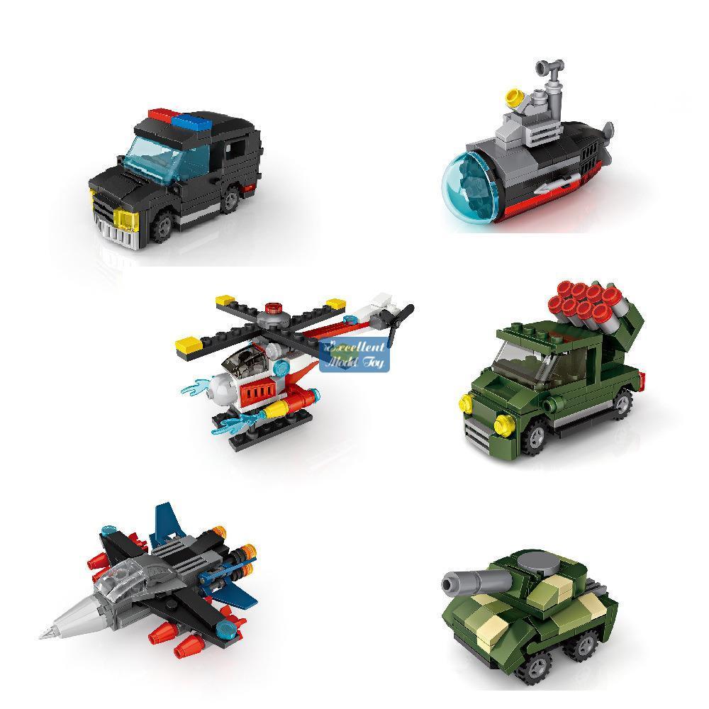Loz Mystery Boxes Mini Bausteine von Dinosaurier, Auto, Militär Truck Engineering Fahrzeug, DIY Pädagogisches Spielzeug, Kind Weihnachtsgeschenk, use