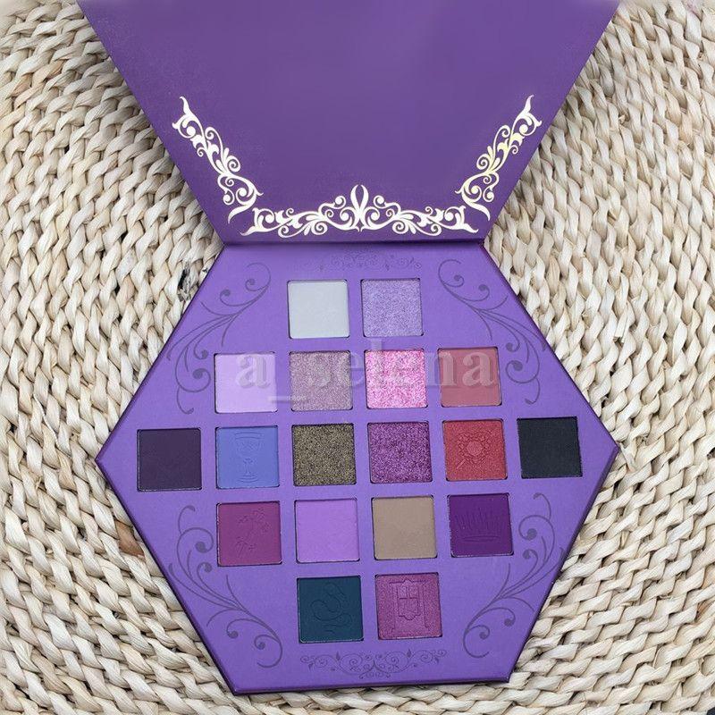 Star Eyes Maquillage Maquillage Pauvre Palette Palette Sang Ombre à paupières de Blanche 18 couleurs Purple Artiste Shadows Palesettes