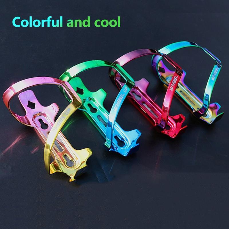 Красочный держатель бутылки на велосипеде MTB велосипедная клетки для велосипеда Клетчатка алюминиевая сплава водяной кронштейн велосипедные велосипедные аксессуары xa82q