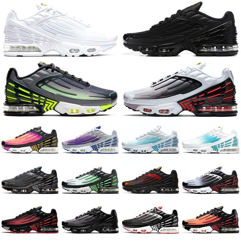 【code:OCTEU03】tn 3 plus Tuned III Zapatillas para correr hombres tn3 Triple blanco negro Fantasma Verde Neón para hombre mujer zapatillas deportivas al aire libre