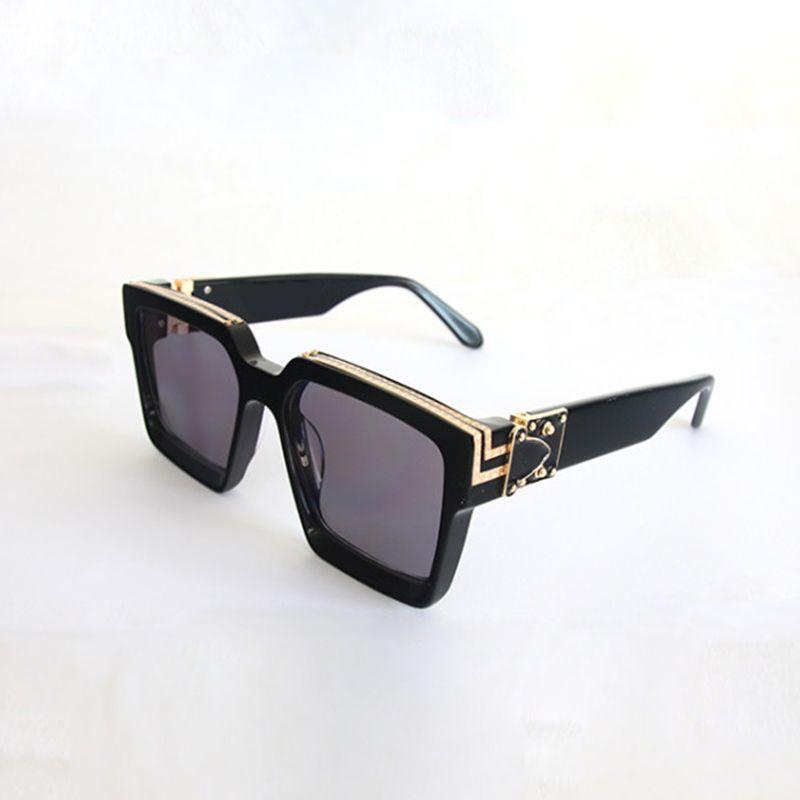 DHL Classic Designer Sunglasses Sunglasses en métal Verre Verre Verres Sun Lunettes Hommes Femmes Vintage Design Protection UV400 Oculos de Sol Masculino Gafas 55mm 58mm avec boîte