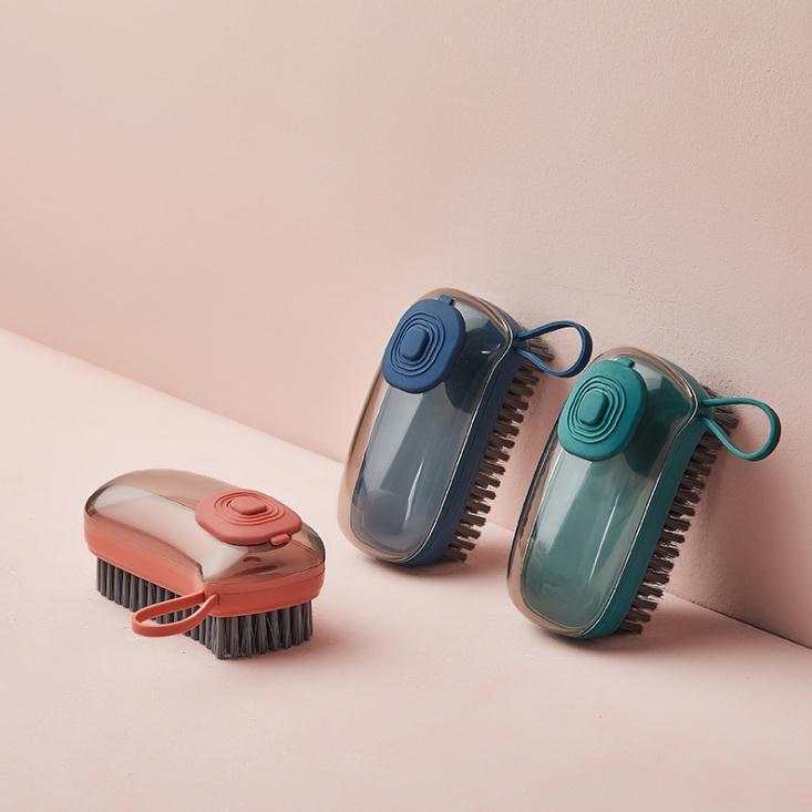 Otomatik Dolum Cihazı Temizleme Fırçası Çok Fonksiyonlu Plastik Yumuşak Yıkama Giysileri Fırçalar Ev Temizleri Fırça Malzemeleri DB508