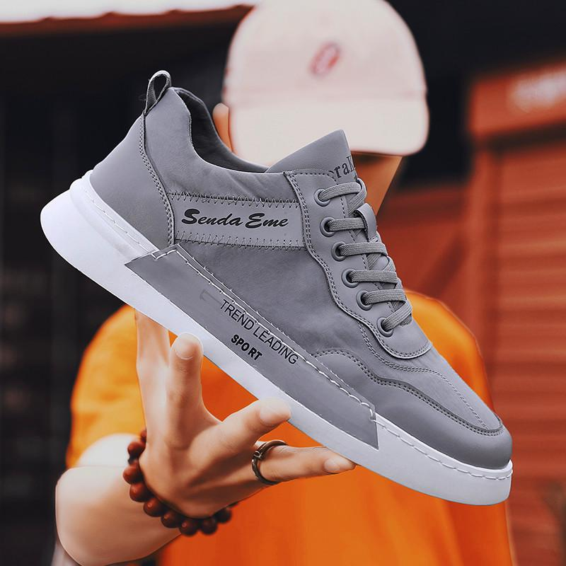 Mens sports shoes lightweight casual shoes non-slip walking Breathable shoes over a thousand fabrics rubber mens soles