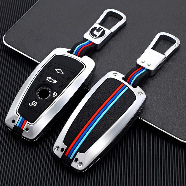سيارة مفتاح حالة تغطية حقيبة مفتاح لسيارات BMW F20 F30 G20 F31 F34 F10 G30 F11 X3 F25 X4 i3 M3 M4 1 3 5 سلسلة الملحقات سيارة التصميم
