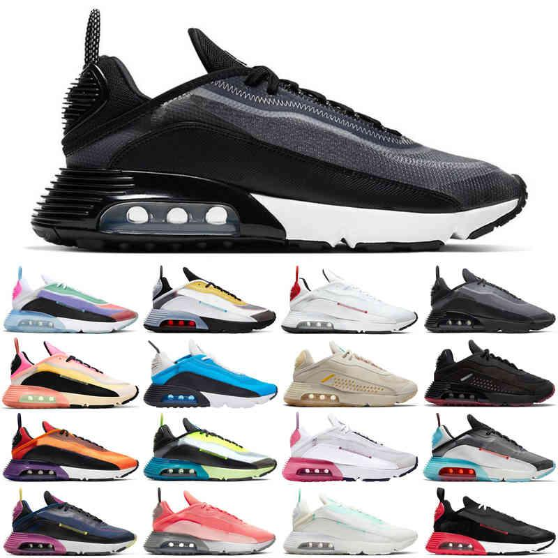 mode 2090 hommes femmes chaussures de course être vraie Pure Platinum Hommes Formateurs Femmes Sneakers Sports Sneakers Sports