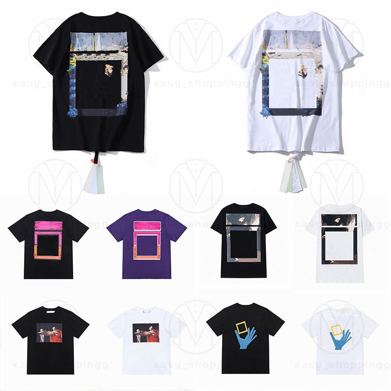21ss Летние Мужские Женщины Дизайнеры T Рубашки Свободные Тис мода Человек повседневная Рубашка Люксы Одежда Уличные Шорты Рукава Одежда Футболты