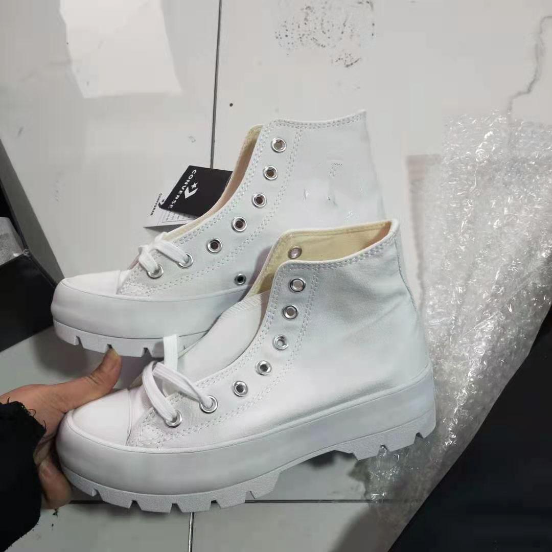 SK2020 Высококачественная новая кожаная кожаная кожаная платформа Taylor 2020 холст мужчины и женские мода легкая повседневная обувь EE