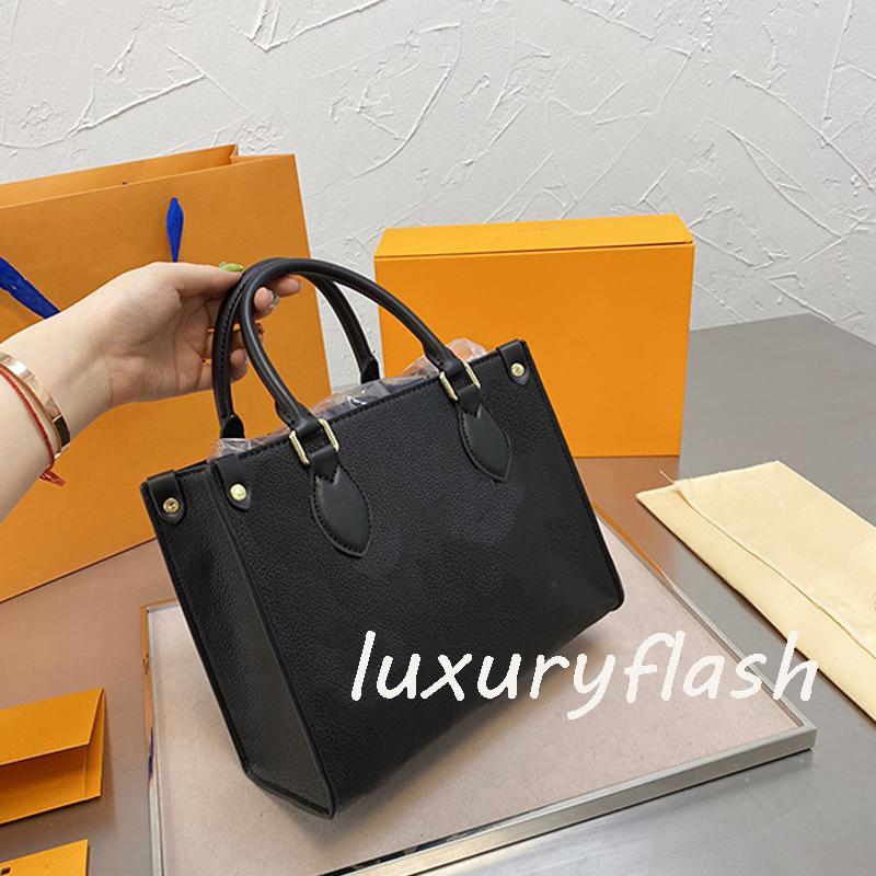 LvlouisSIRT ÇANTASIVittonlv C1SM 25 cm Kadın Onthego Çanta Küçük Luxurys Tasarımcı Çanta Çanta Yeni Stil Crossbody Çanta Omuz 20 Exef