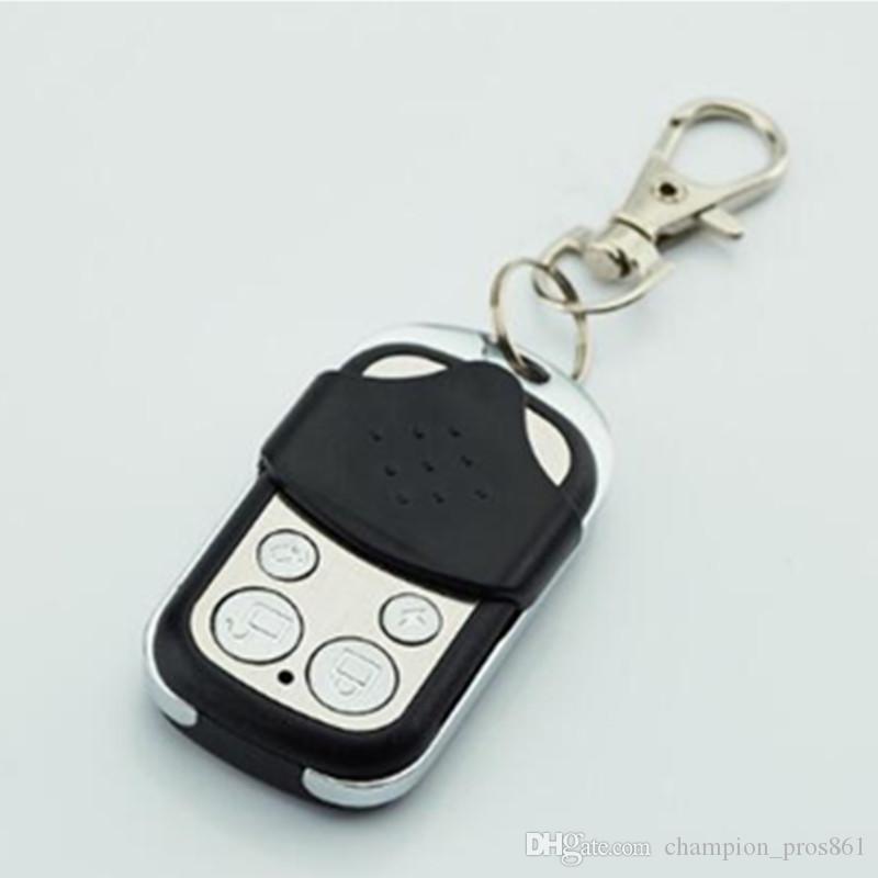 اللاسلكية المعدنية التحكم عن بعد Keyfobs Keychain 433 ميجا هرتز متاح فقط ل G2B O2B حماية الأمن GSM نظام إنذار GSM