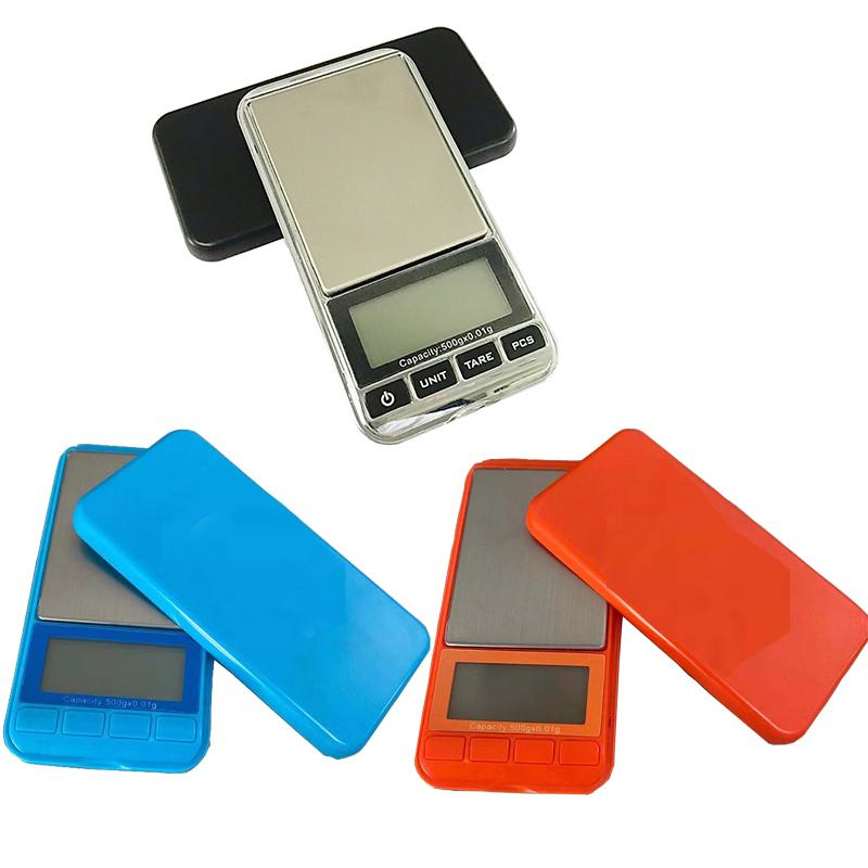 0.1g/0.01g LCD Portable Mini Electronic Digital Scales Pocket Case Postal Kitchen Food Jewelry Weight Healthy Balance Scale