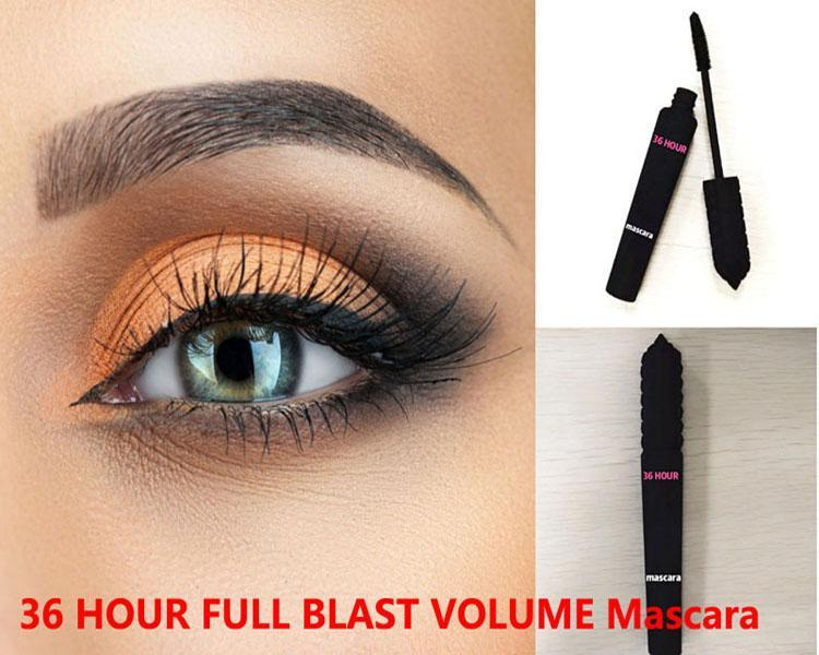 36 ساعة ماسكارا الأسود ماسكارا ماكياج ماكياج mascara mascara 36 ساعة كاملة انفجار حجم حجم العلامة التجارية الجديدة 8.5 جرام