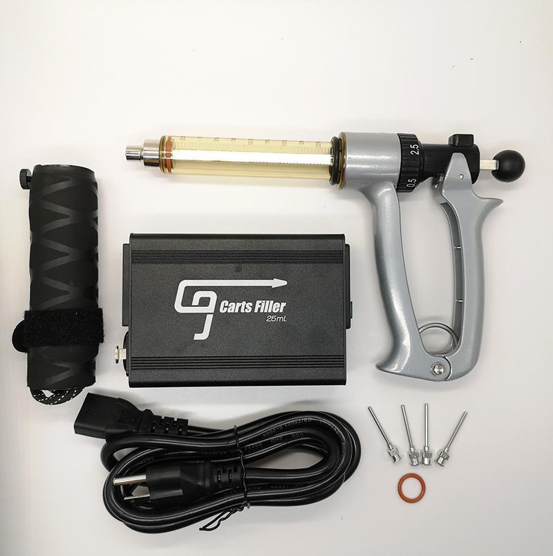 Автомобиль для картриджа для картриджа ECIG 0.5 мл 0,8 мл 1.0 мл Телегии фильтр полуавтоматический 110V US Plug Vape картридж фильтр DHL быстрая доставка