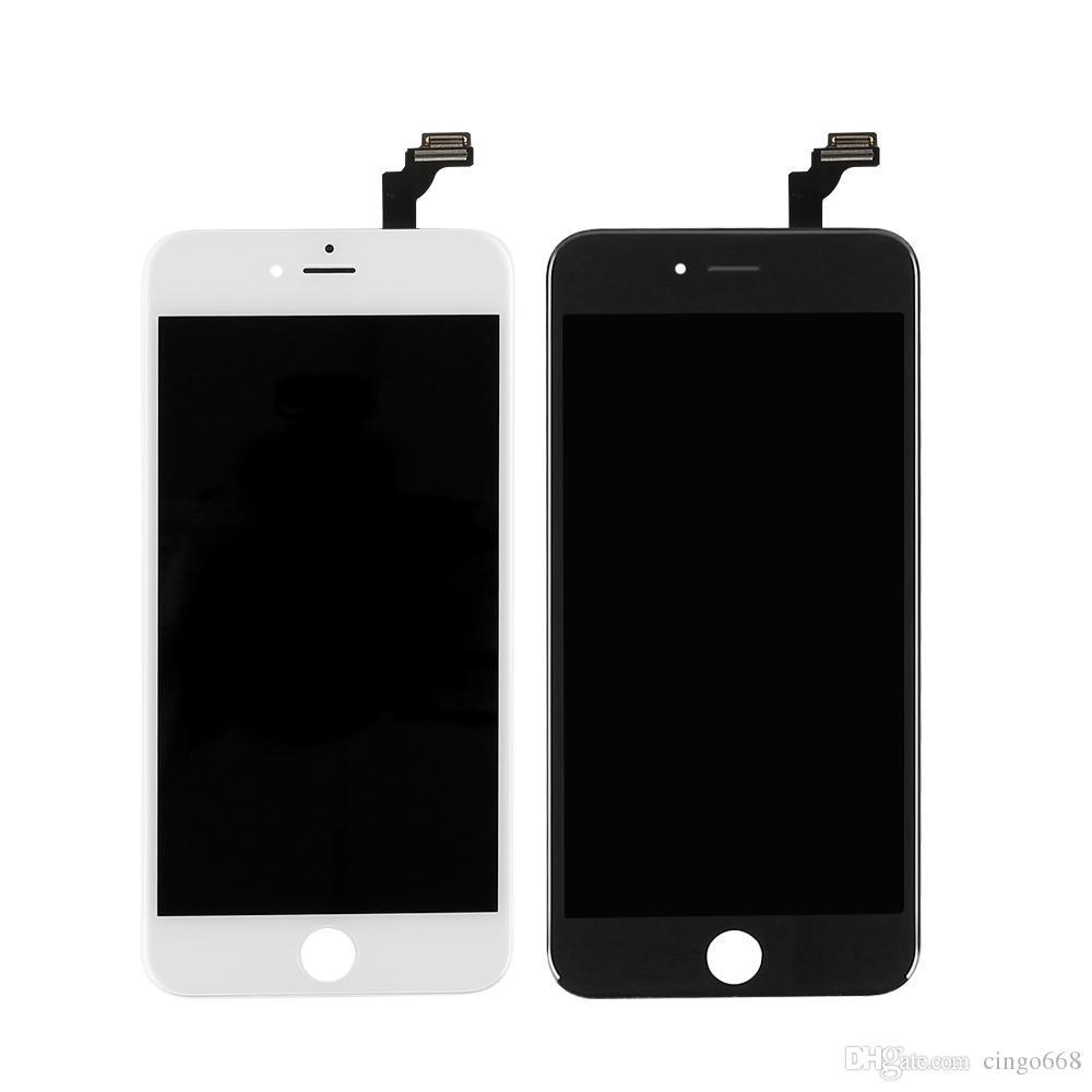 Factory price LCD monitor for iPhone 6P 5.5-inch high-brightness A-class +++ LCD screen, free shipping with touch digitizer and DHL
