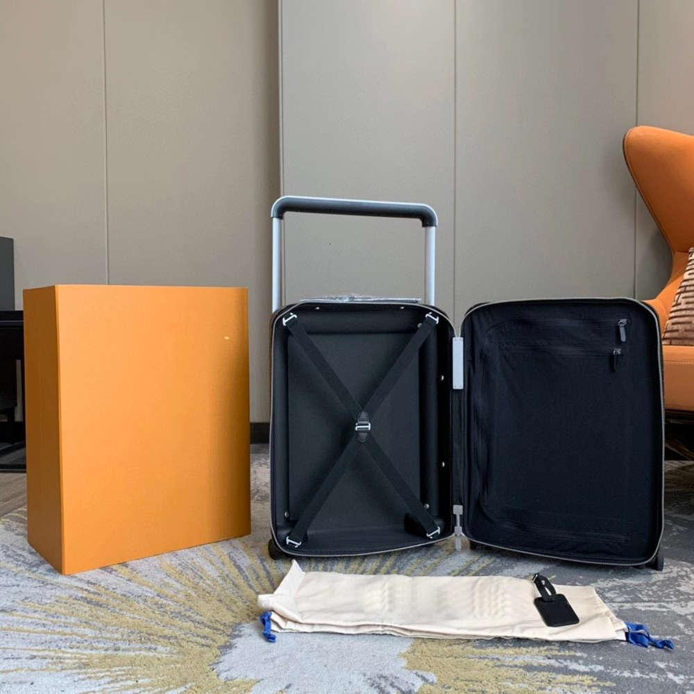 7A + Diseñador Nequet Designers de lujo Maleta de viaje Moda Equipaje Moda Unisex Bolsa de tronco Flores Letras Monedero Rod Box Spinner Universal Rueda Duff Duff