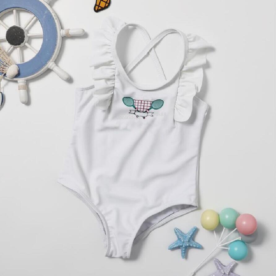 Bambini Costumi da bagno Ragazze One Piece Bikini Costume da bagno Rompere Beach Baby Girl Abbigliamento da bagno Swimming Bikini Bambini Vestiti da nuoto