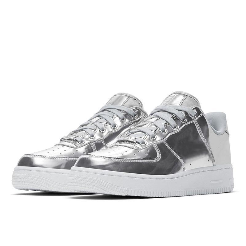2021 SP Liquid Metal Chrome Skate Shoes 1'07 per le donne Taglia la dimensione del skateboard basso EUR36-45