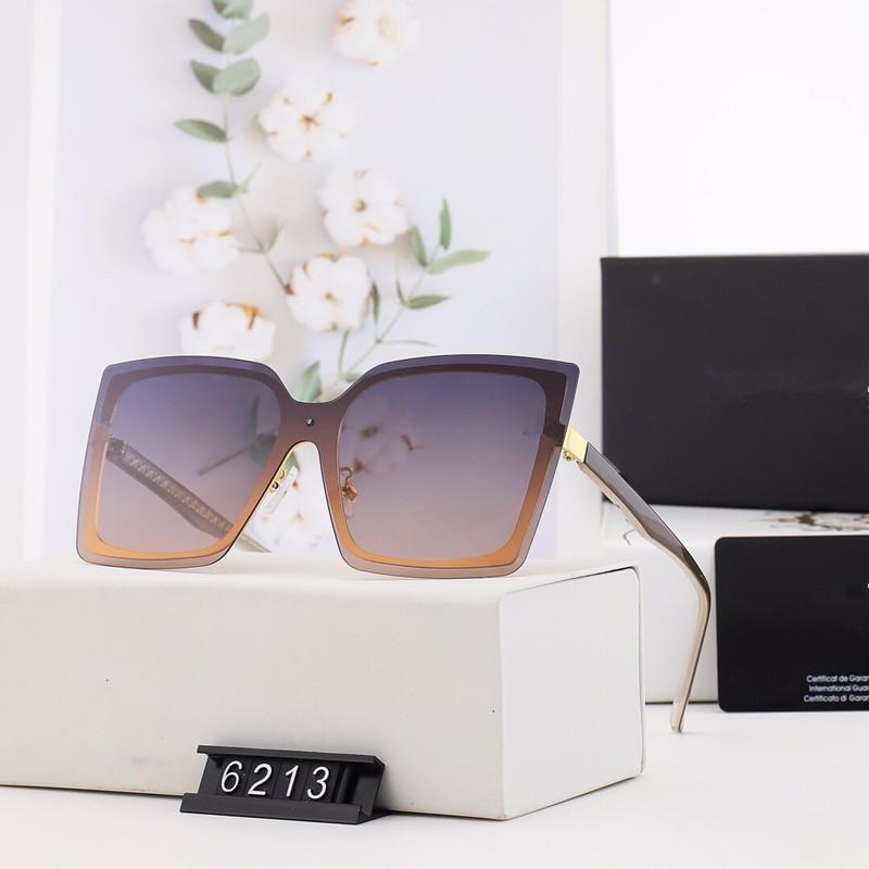 Verão marca grande quadro óculos de sol ao ar livre óculos de sol óculos UV400 Proteção Eyewear 6213 oculos de sol óculos wx5