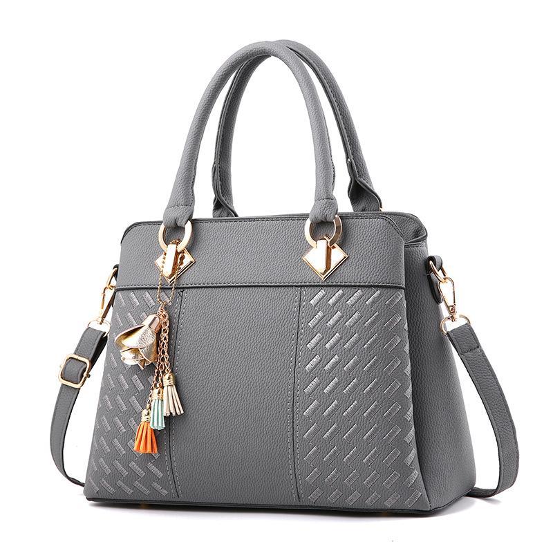 HBP Spring 2021 Fashion Trend In The New Female Bag Handbag Atmosphere Inclined Shoulder Bag One Shoulder Bag
