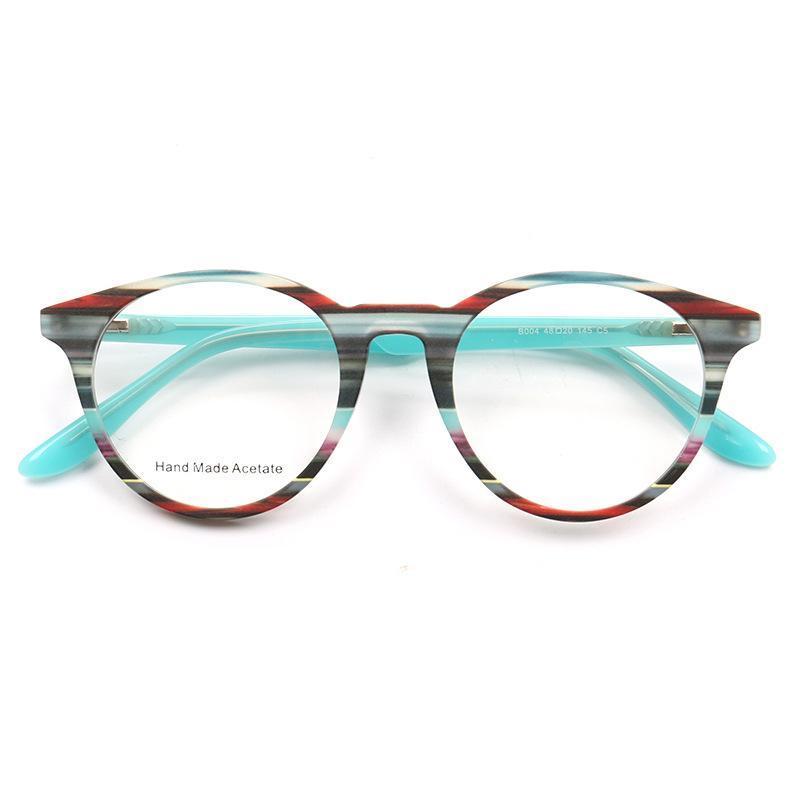 Moda óculos de sol quadros belight colorido colorido acetato gato olho borboleta retro prescrição vintage óculos espetáculo quadro olho olho