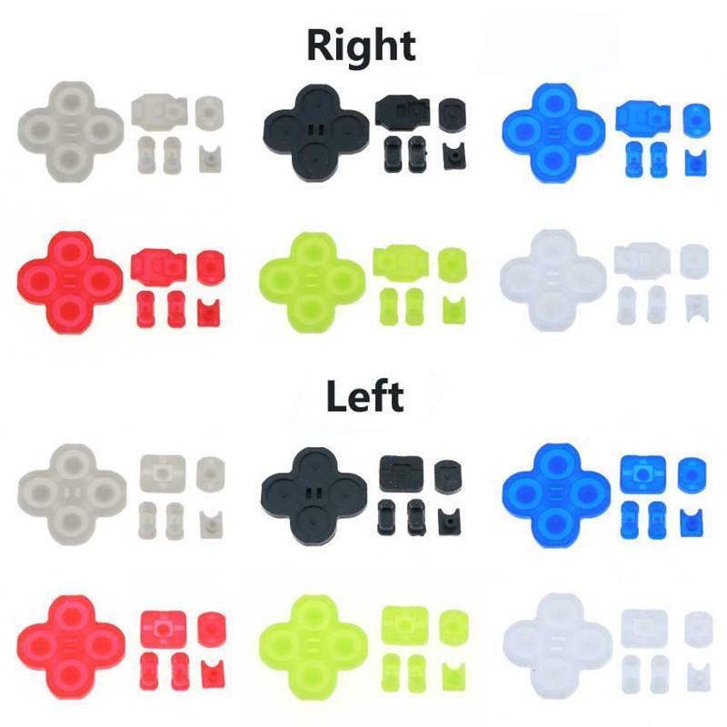 Right/Left Rubber Button Conductive Glue JOY CON Rubber Pad Repair Parts Rubber Button for Nintendo Switch NS