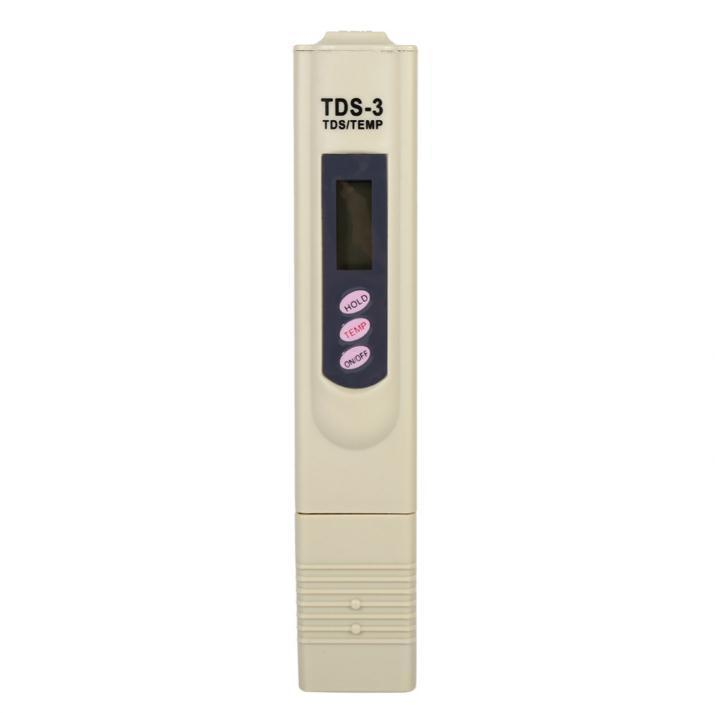 50PCS TDS-3 PH Tester Portable Digital LCD Water Quality Testing Pen Purity Filter TDS Meter Tester