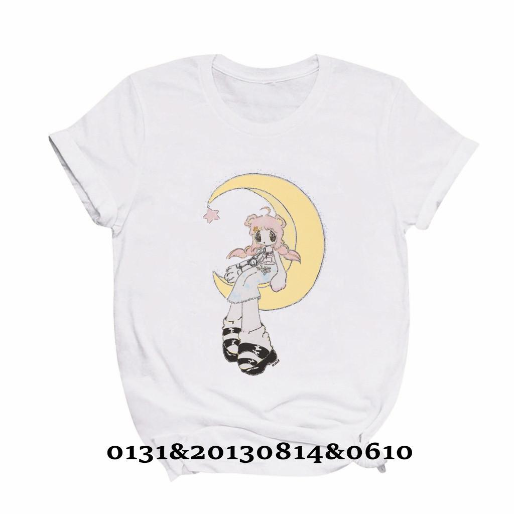 Unif Alien Girl Girl Graphic Donne Summer Estate Casual Mayu's LullAby Baby Harajuku T-Shirt Manica Corta Top Tshirt Donne