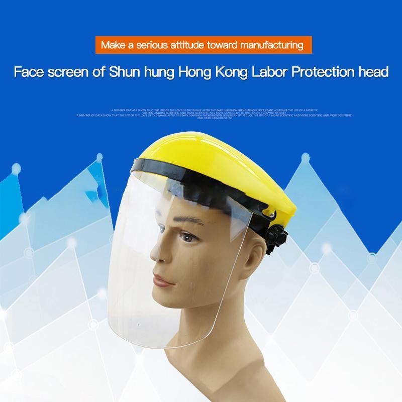 Caschi da moto Elevatori di saldatura ad alta temperatura Maschera protettiva per la protezione 1PC Schermo frontale a prova di spruzzata a prova di testa a prova di spruzzata