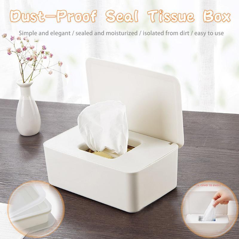 Кухонная ткань Чехол Туалетная бумага Ящик для хранения Настенный бумажный держатель для полотенец Уилки Туалетная коробка Главная Кухня Ванная комната Организатор