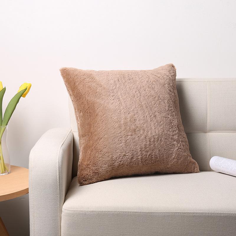 X143 Küçük Taze Kucaklama Yastık Dikey Şerit Süet Yastık Örtüsü Ev Eşyaları Hug Yastık Kılıfı Katı Renk Yastık Kapakları ASDF