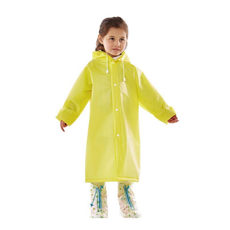 Good Quality Reusable Impermeable Kids Girls Boys Waterproof School Backpack Hooded Rain Coat Poncho Rainwear With jllRLr
