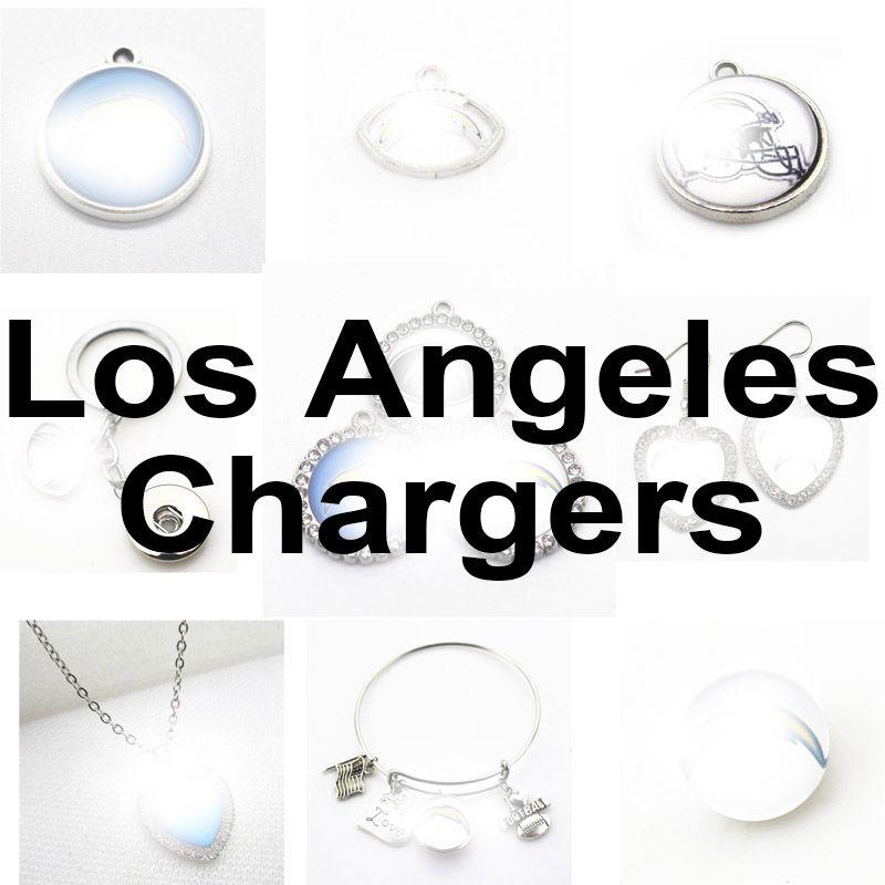 Équipe de football Los Angeles Sport Charms Chargeurs Pangle Hanging Charms Bracelet Bracelet Collier Bijoux Bijoux Accessoire Amérique Charms