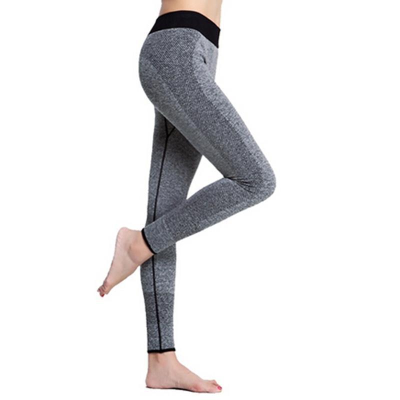 اليوغا تتسابق سريعة الجافة النساء بانت الرياضة الجوارب طماق calzas امرأة اللياقة البدنية ملابس السيدات الجري رياضة
