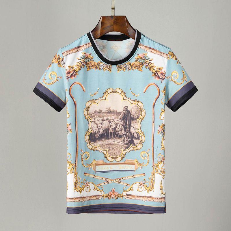 유명한 남성 디자이너 티셔츠 폴로스 남성 여성 편지 인쇄 짧은 소매 패션 망 스타일리스트 캐주얼 라운드 넥 티즈 크기 M-XXXL