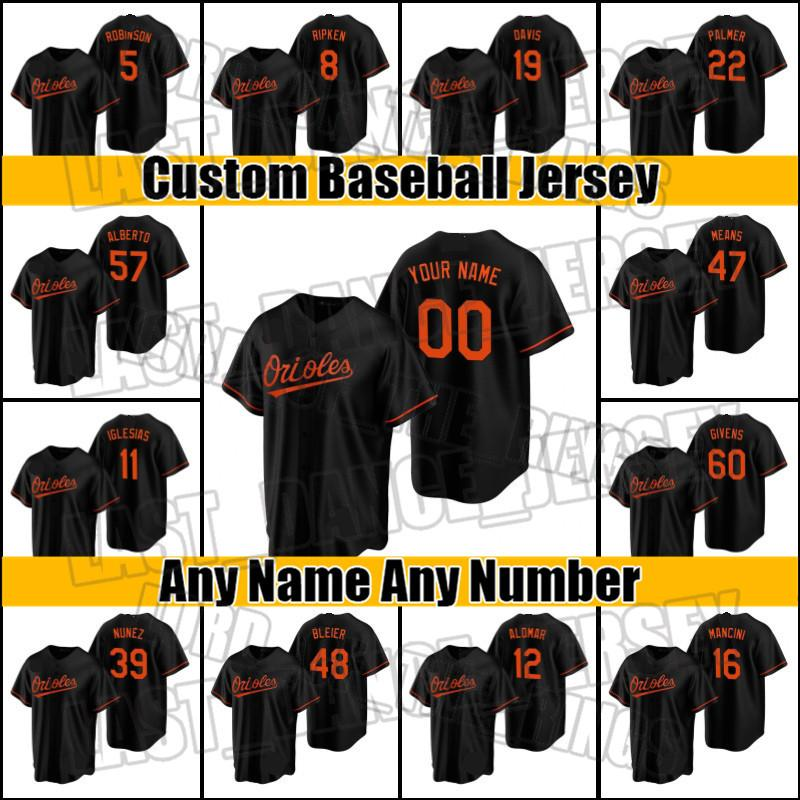 Orioles 19 Chris Davis Jersey Baltimores 47 John bedeutet 8 cal Ripken Jerseys Trey Mancini Anthony Santander Yolmer Sanchez Cedric ZXCV65