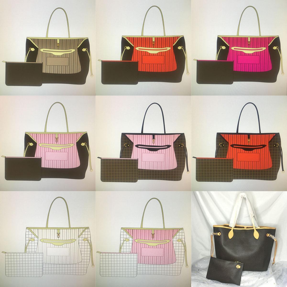 Mm gm naverfulls designer de luxo bolsas de couro genuíno bolsas de mão clássico bolsas para mulheres bolsa com bolsa carteira moda compras bolsa bolsa de bolsa mulher bolsa de ombro