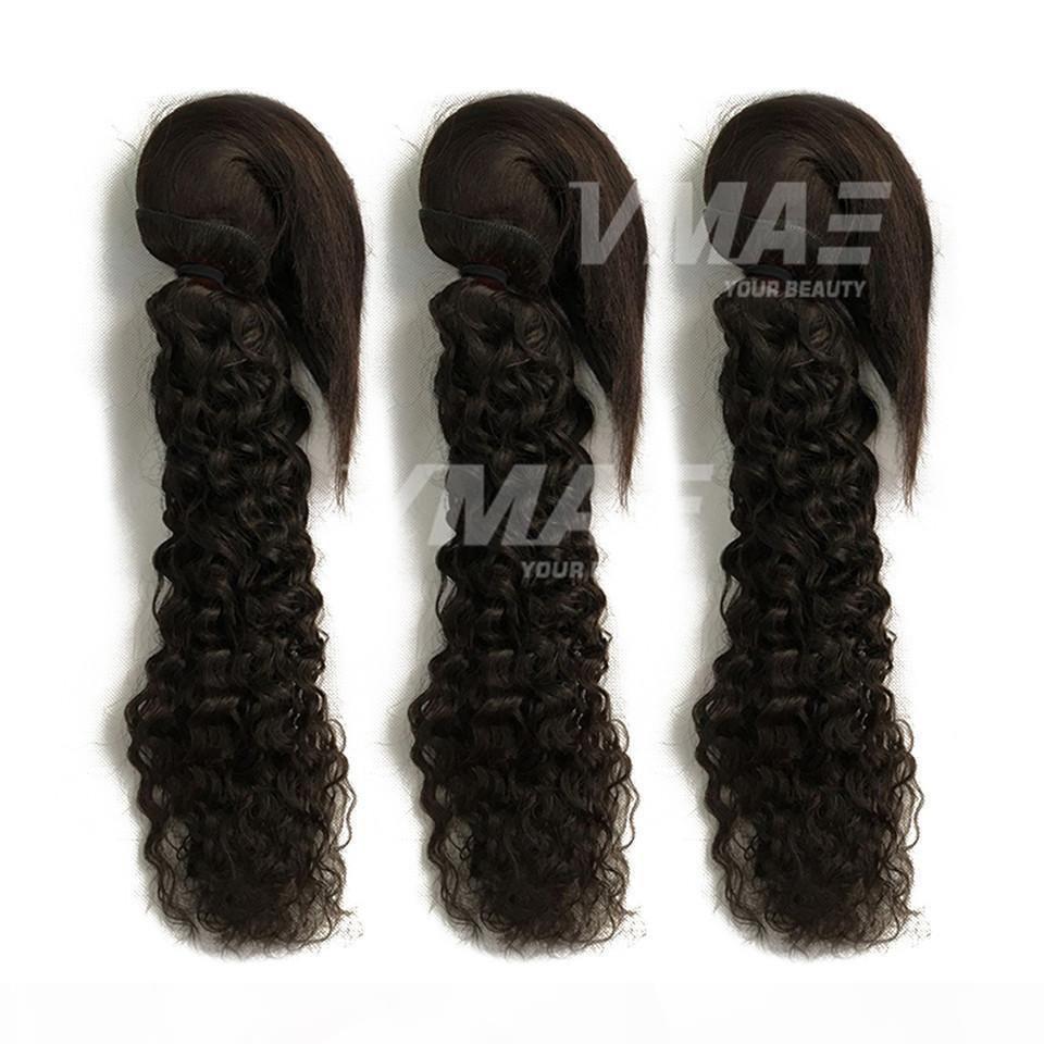Бразильская девственница Волна Волна оплетка в палочках оплетки в плетеных волосах Человеческие волосы 3 Пакета Необработанные Высококачественные Увлажнения волос От 10 до 28 дюймов