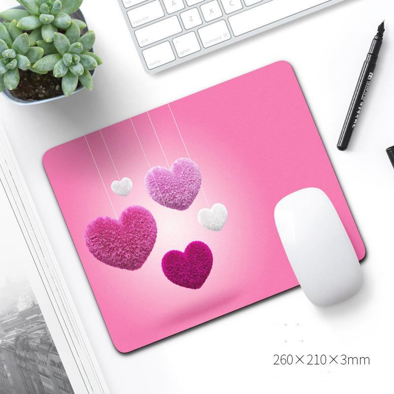 2021 nueva almohadilla de ratón caliente 210 * 260 * 3mm cuadrado Pad Mouse con múltiples patrones Gaming Mouse Pad envío gratis