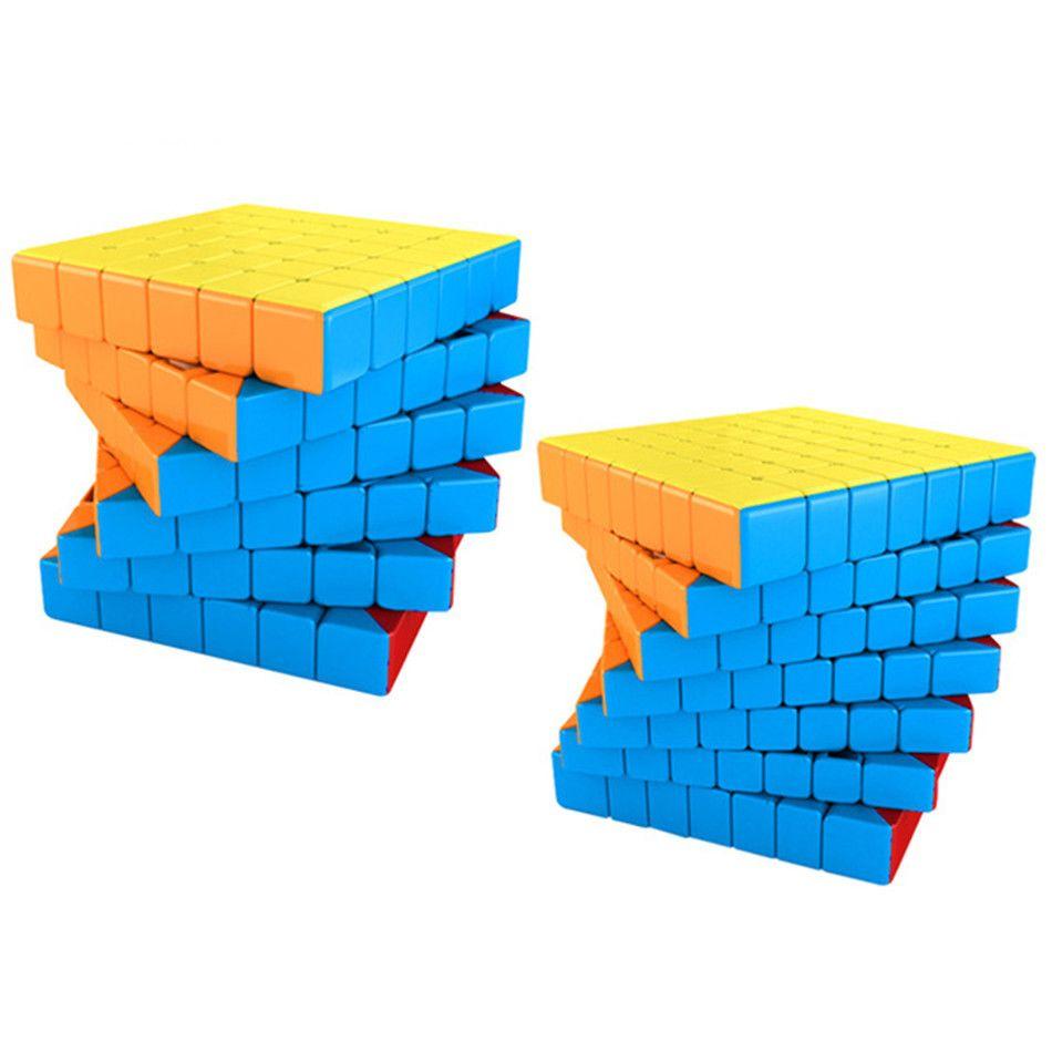 Moyu SpeedCube Meilong Magic Cube Nickerless 4x4 5x5 6x6 7x7 8x8 скорость головоломки кубики игрушки подарок L0226