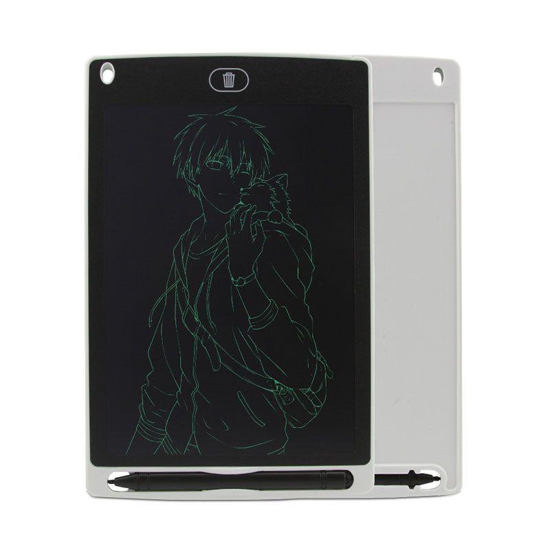디지털 태블릿 10 인치 LCD 작성 태블릿 전자 그림 그리기 패드 미니 보드 펜 5 색 어린이 아이들과 함께 휴대용