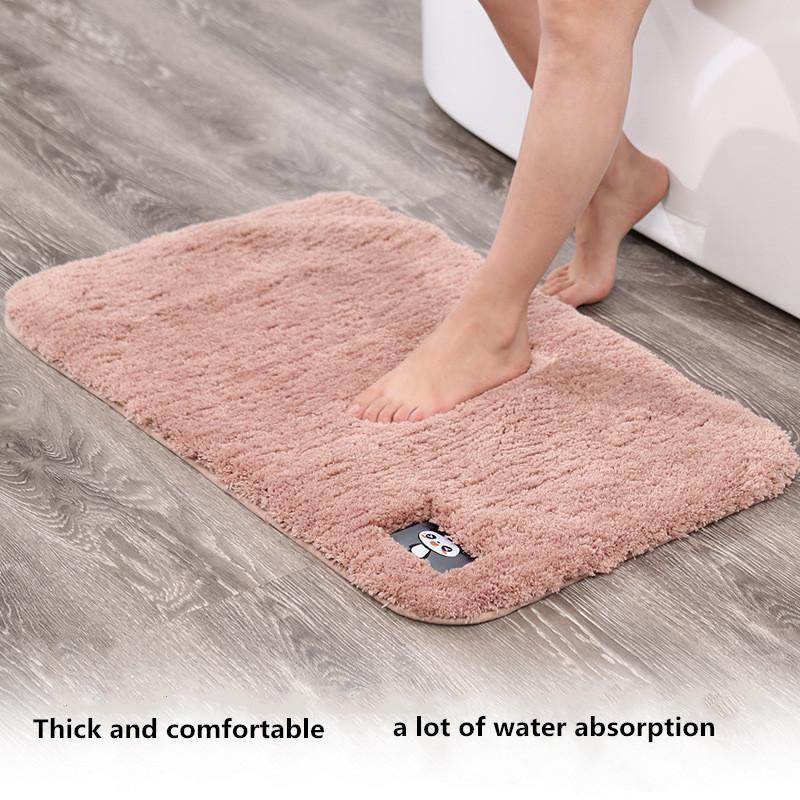 Carpets Soft Water Absorption Modern Home Living Yoom Bedroom Rug Bedside Entrance Hall Non-slip Mat Bathroom Set Stair Treads Carpet
