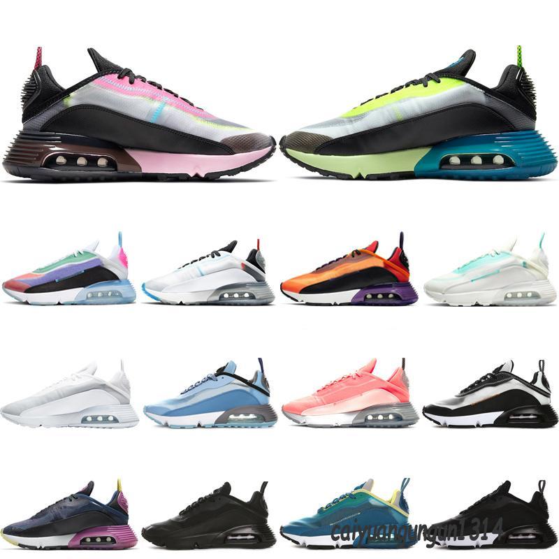 Volt 2090 러닝 신발 망 훈련 트레이너 Womens Chaussures 순수한 백금 마그마 오렌지 진정한 핑크 거품 트리플 화이트 스니커즈 스포츠 신발 C14
