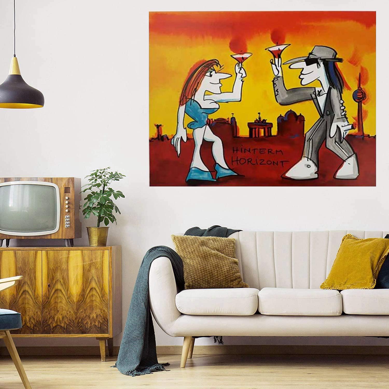Hintermer Horizont Огромная живопись маслом на холсте ДОМАШНЕЕ ДЕВОЧНОЕ ОБРАЗОВАТЕЛЬНЫЕ РЯДЫ / HD PRINT Настенные изображения Картинка настроек допустимы 21061129