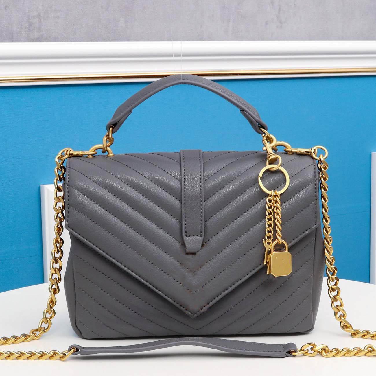 Designer di lusso Diagonal Bag Diagonal Designatore di alta qualità Designer Donne Borse Borse Borse Genuine Pelle Retro Crossbody Tote Sera Borse a tracolla
