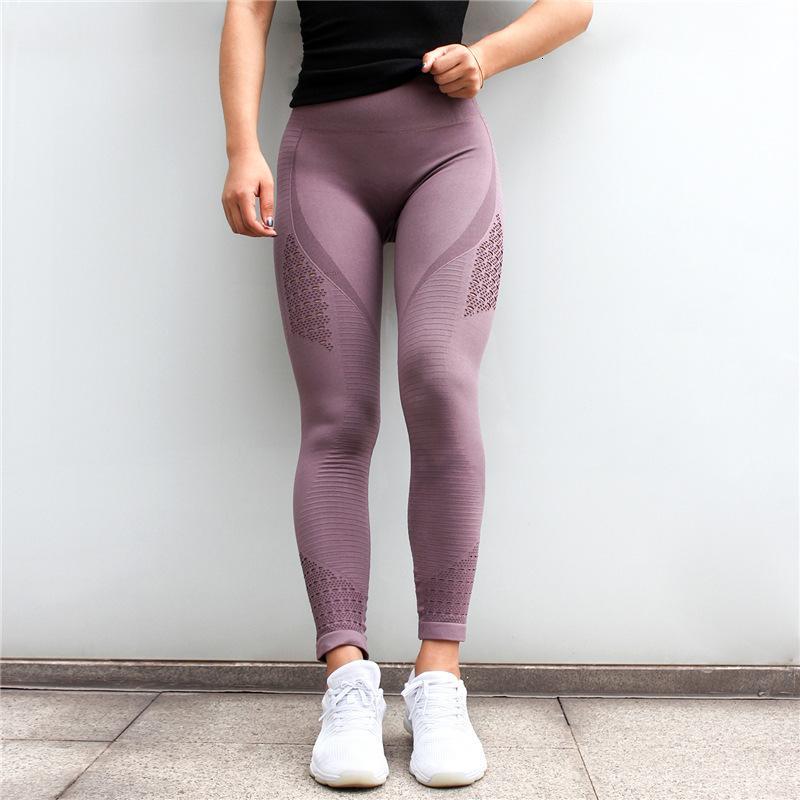 Tayt Okulları Yüksek Kuyruk 2021 Moda İnce Heupen Dokuz Broek Kadınlar Efektler Renk Legging Spor