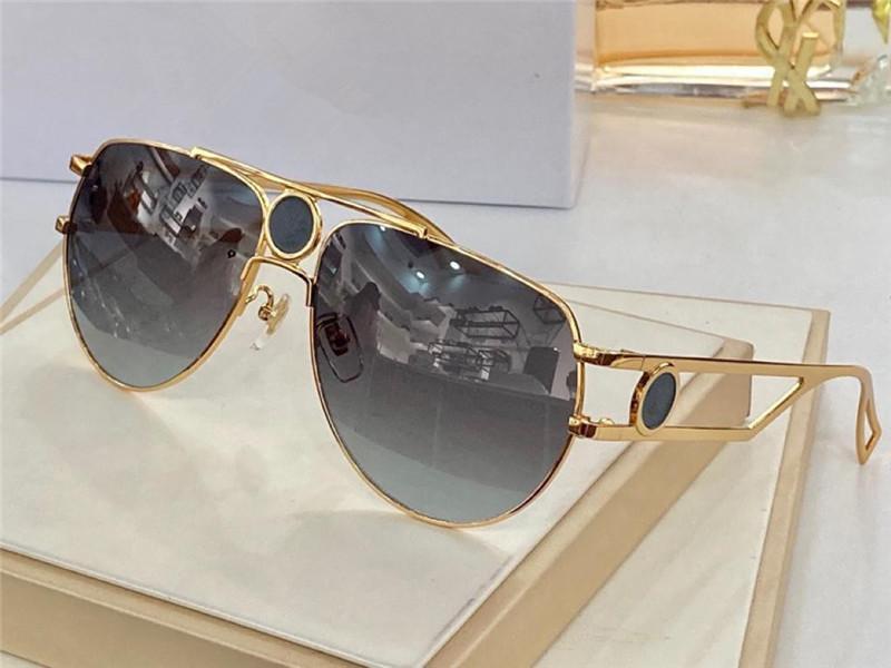 2225 Yeni Gelişmiş Erkekler Ve Kadınlar Güneş Gözlüğü Moda Tam Çerçeve UV400 Ultraviyole Koruyucu Gözlük Steampunk Yaz Oval Stil Gönderme Kutusu