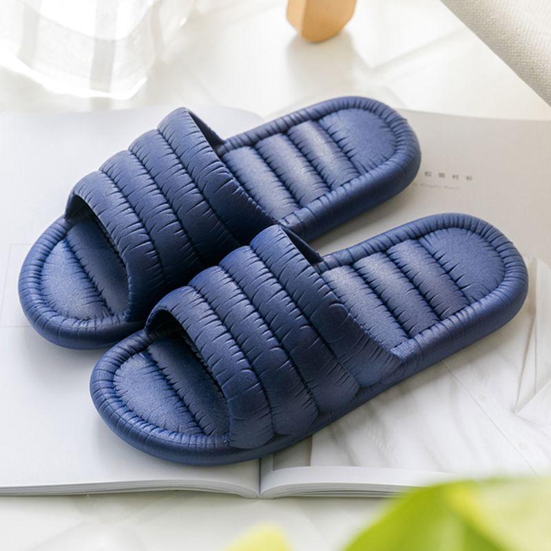 Zapatillas mujer verano interior pareja interior by blank inferior baño antideslizante baño lindo sandalias al aire libre B90