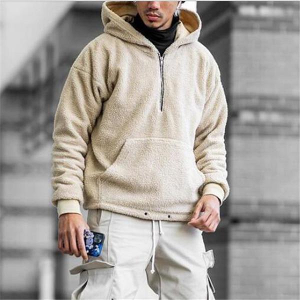 2021 primavera autunno uomo puro colore allentato allentato gioventù giacca con cappuccio maglione giacche giacche cappotto vestiti tuta sportiva