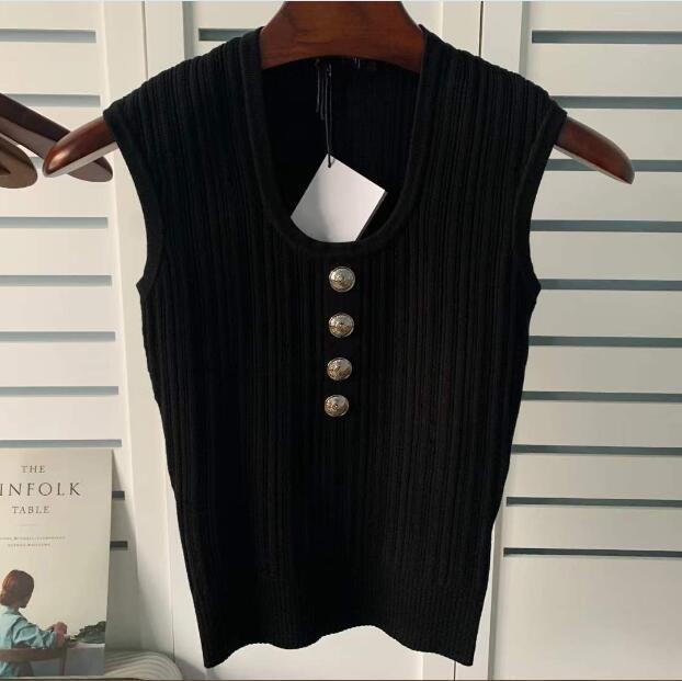 Bayan Tasarımcı T Gömlek Moda Tişörtleri Mektup Baskılı En Kolsuz kadın Rahat Tees Hip Hop Streetwear Tişörtleri ST202102