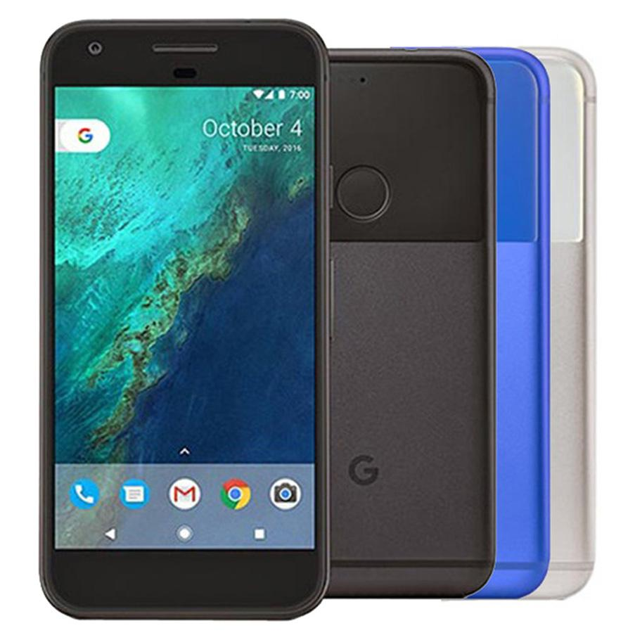 Original Refurbished Google Pixel XL 5.5 inch Quad Core 4GB RAM 32GB 128GB ROM 12.3MP Unlocked 4G LTE Smart Cell Phone DHL 10pcs