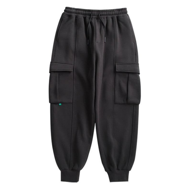 Hombres Sweetpants en color puro Fox Fit Style Retro Spring y otoño para hombre Swears Wear Wear Hombres Pantalones